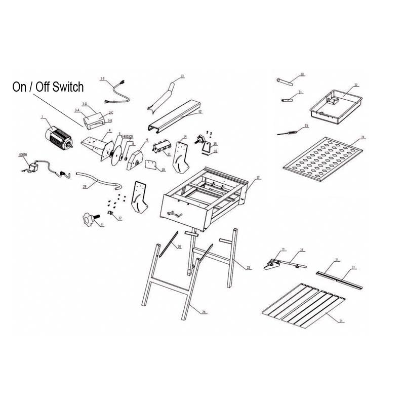 QEP 83200 M 83200 qep tile saw repair parts qepparts com wiring diagram for qep 60010 wet saw at gsmx.co
