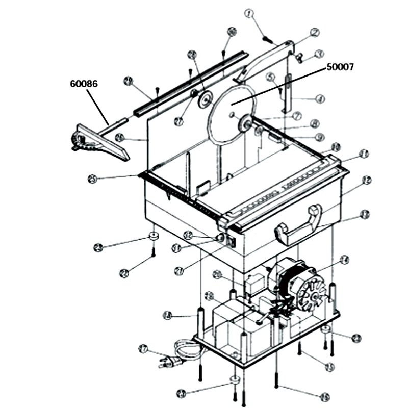 60085 Qep Tile Saw Repair Parts
