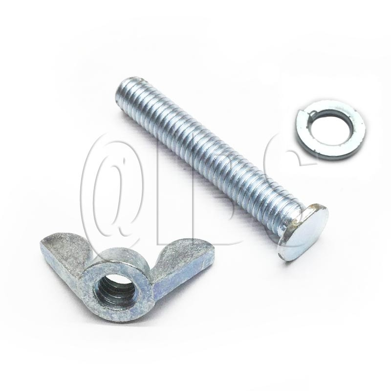 10-40-10 QEP Screw,Lock Washer,Wingnut,1/Ea