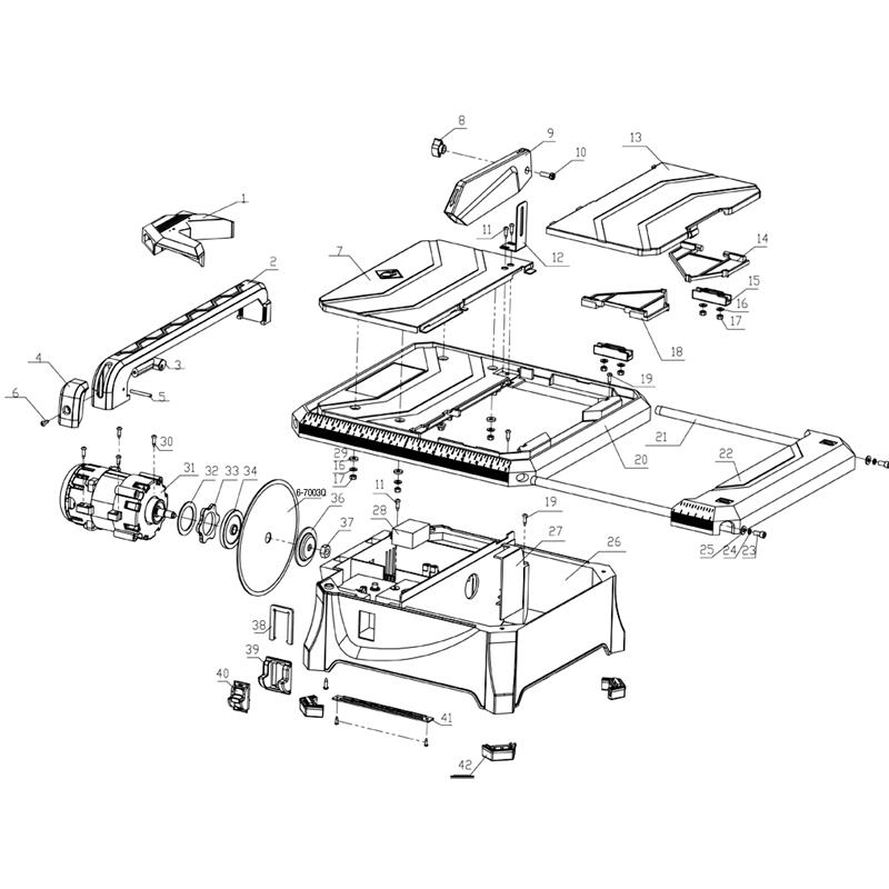 22650 Qep Tile Saw Repair Parts Qepparts Com